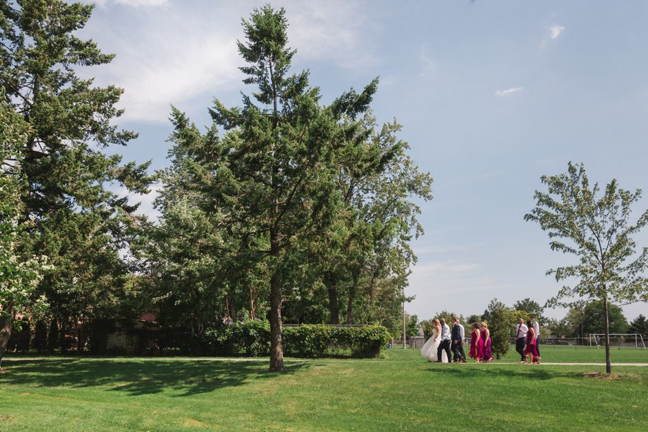 The Vue Wedding Humber Arboretum