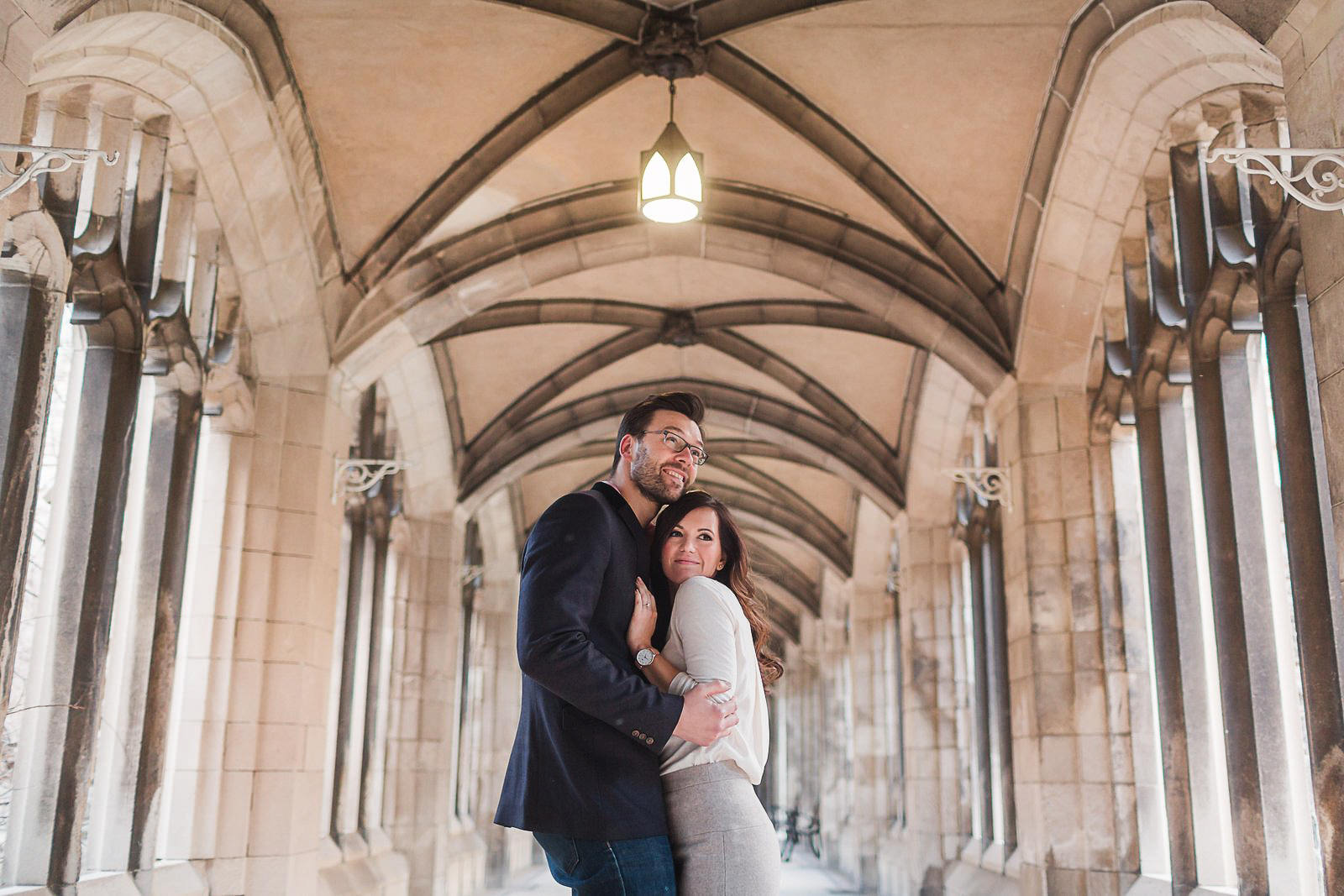U of T Engagement shoot