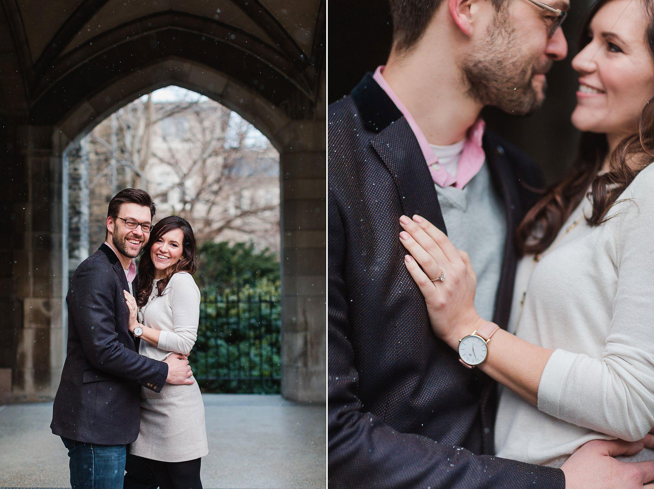 U of T Engagement shoot