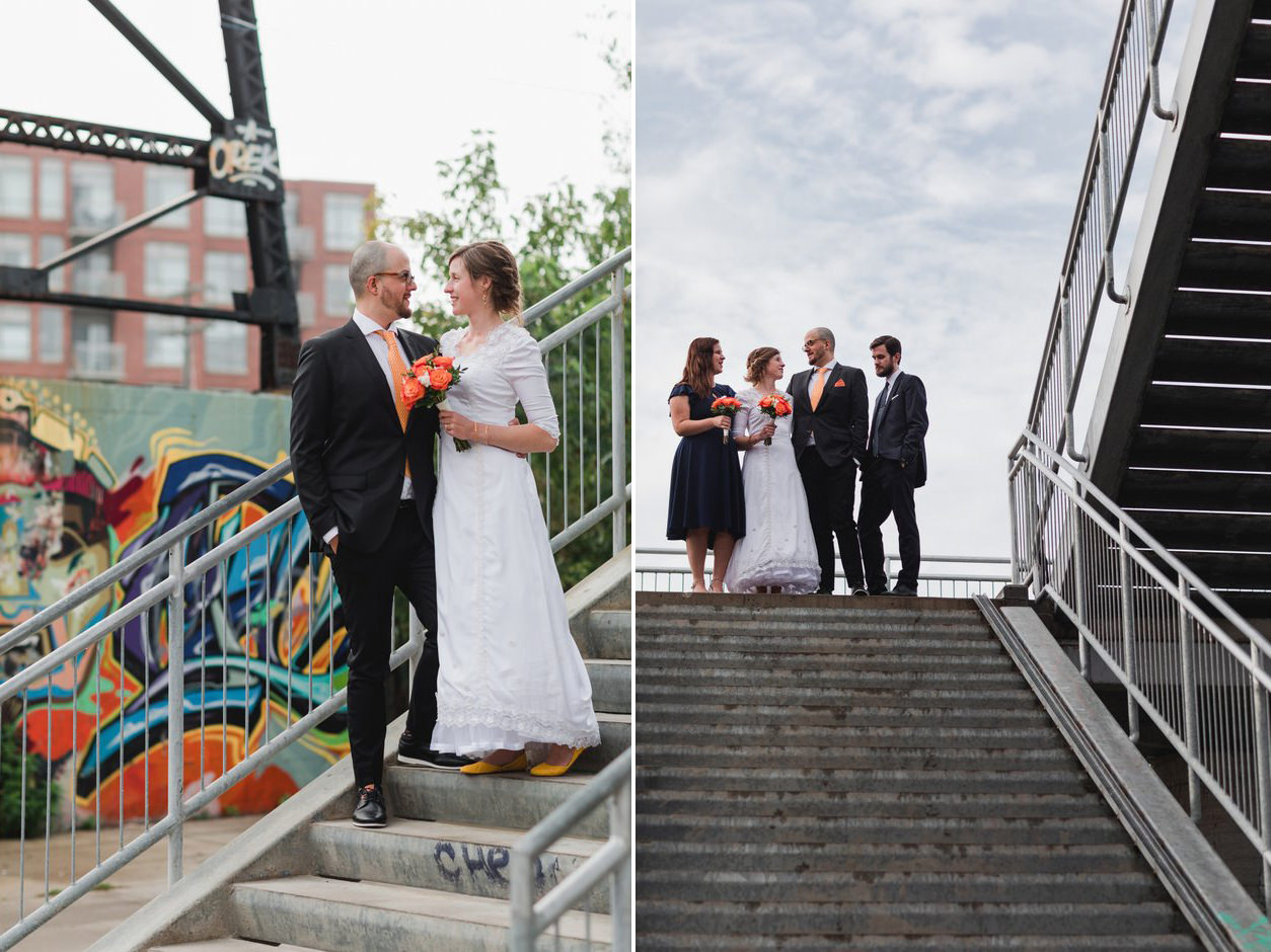 wedding pictures at propeller coffee toronto24